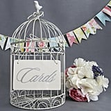Bird Cage Wedding Card Box