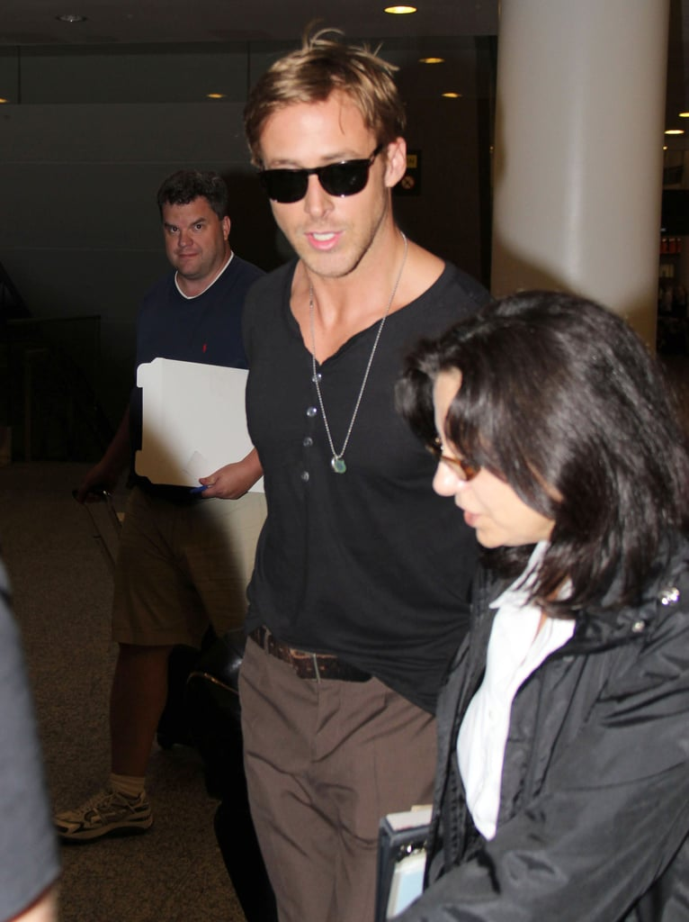 Ryan Gosling in shades.