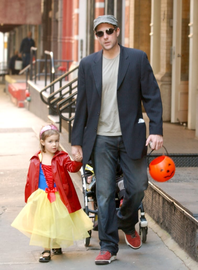 Edward Burns and Daughter Grace