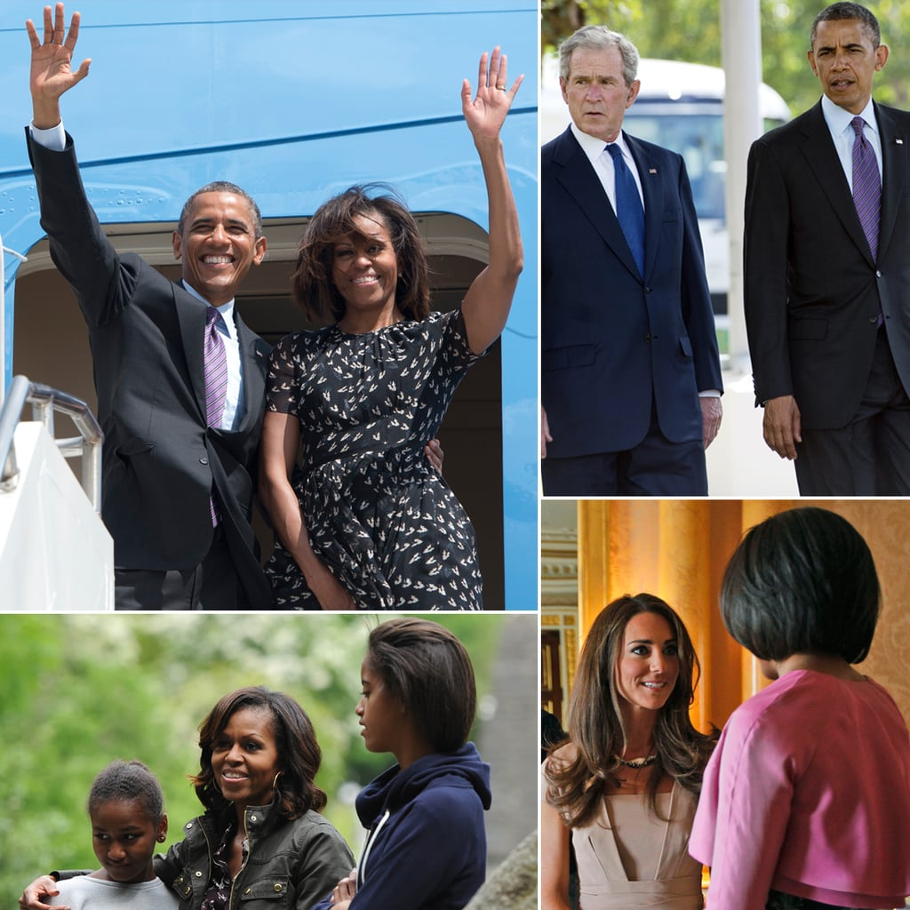 The Obama Family's Many Overseas Adventures