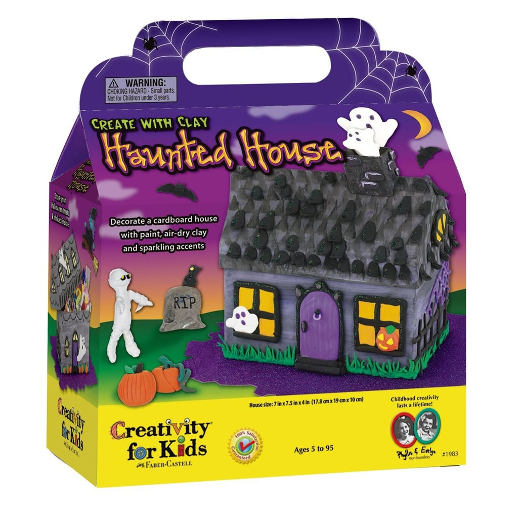 Kids halloween craft kits - Creativity For Kids Create With Clay Haunted House