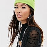 ASOS Design Recycled Polyester Mini Fisherman Beanie