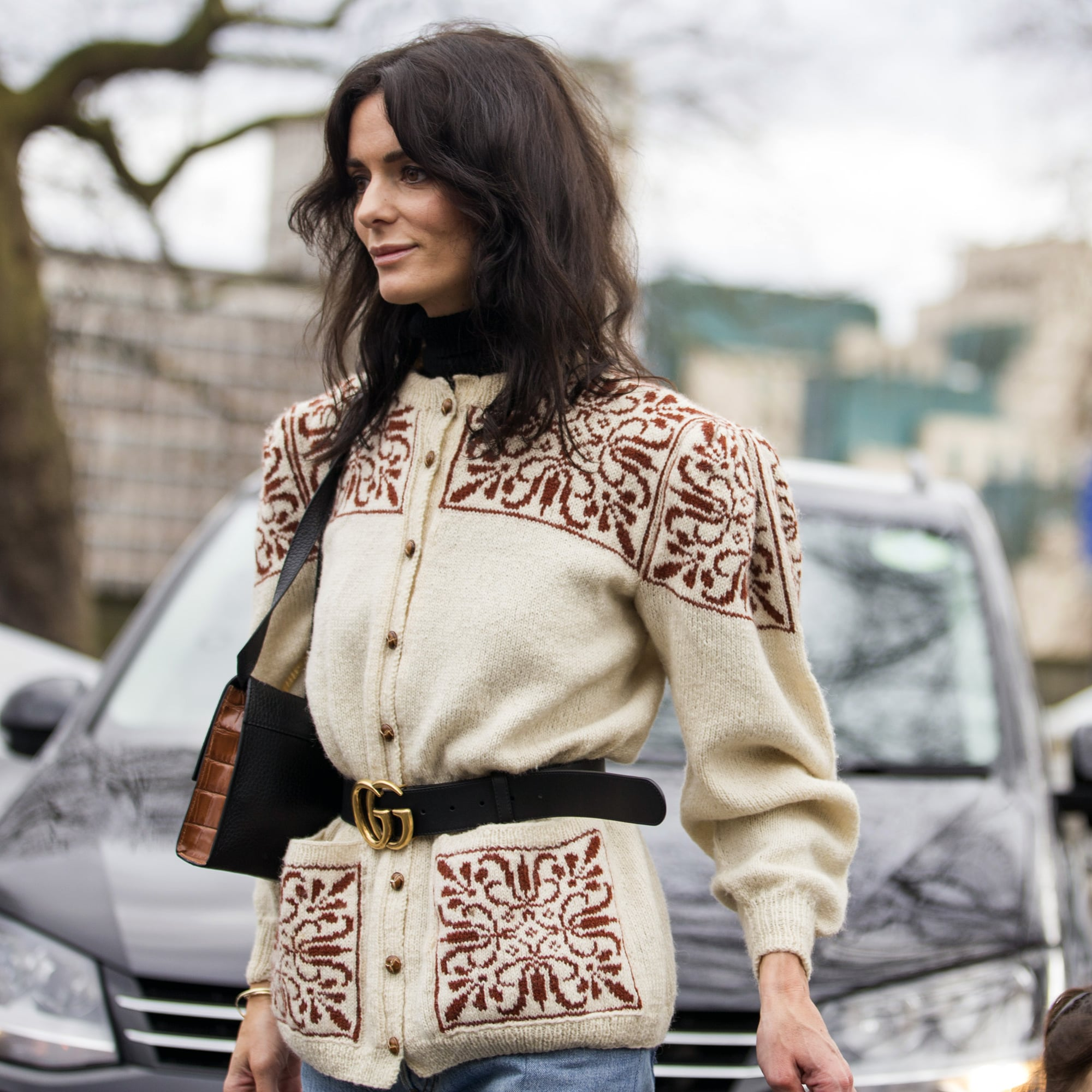 How to Wear the Cardigan Trend of Winter 2020 | POPSUGAR Fashion