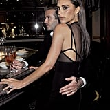 David couldn't keep his hands off Victoria at the CFDA and Vogue Fashion Fund dinner in LA in October 2013.