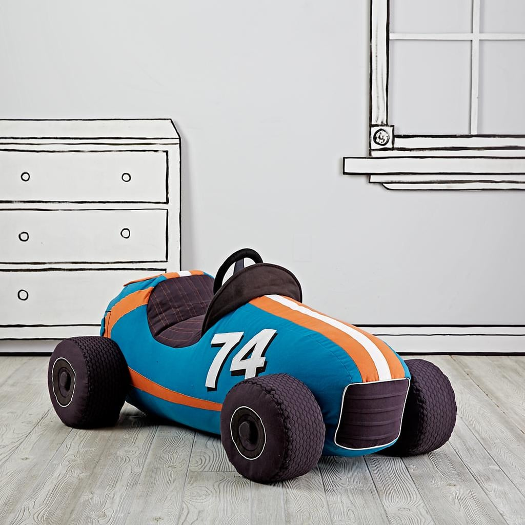 For 2-Year-Olds: The Land of Nod Grandest Prix Plush Speedster