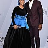 Mahershala Ali and Amatus Sami-Karim at the 2019 SAG Awards