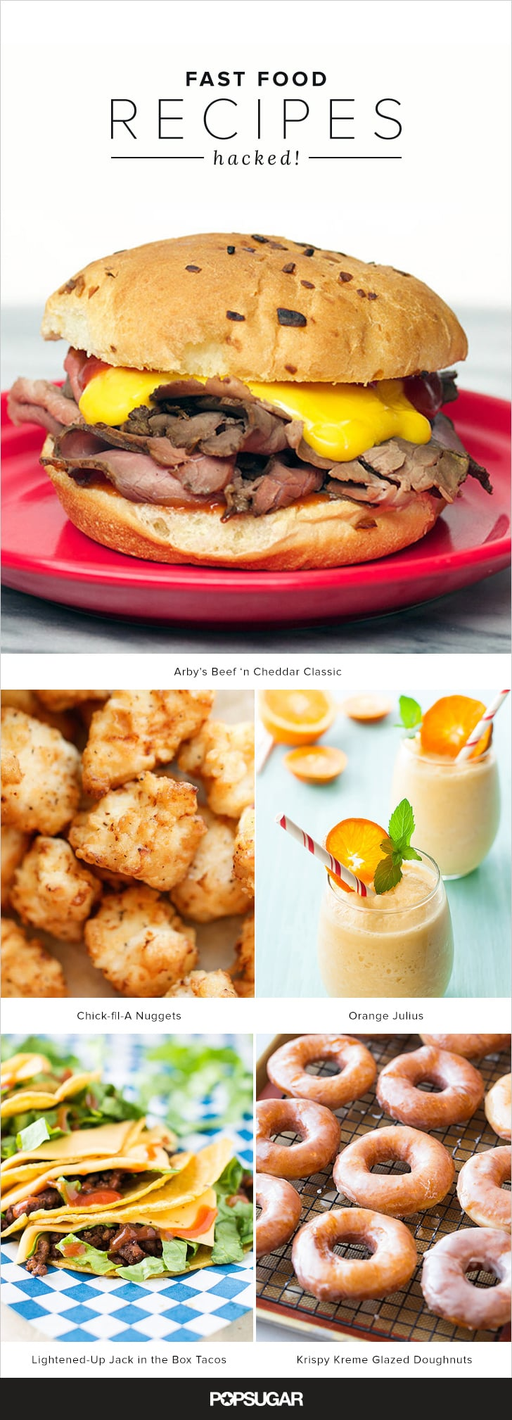 27 Fast Food Recipes — Hacked!