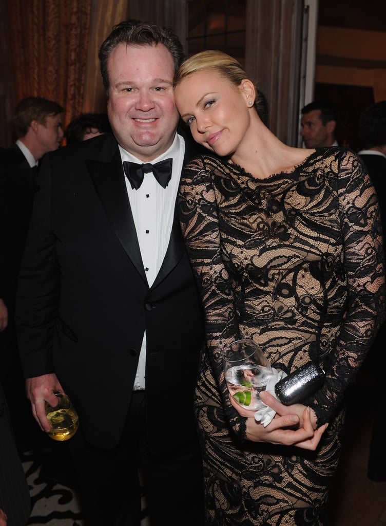 Eric Stonestreet and Charlize Theron got together for a photo.