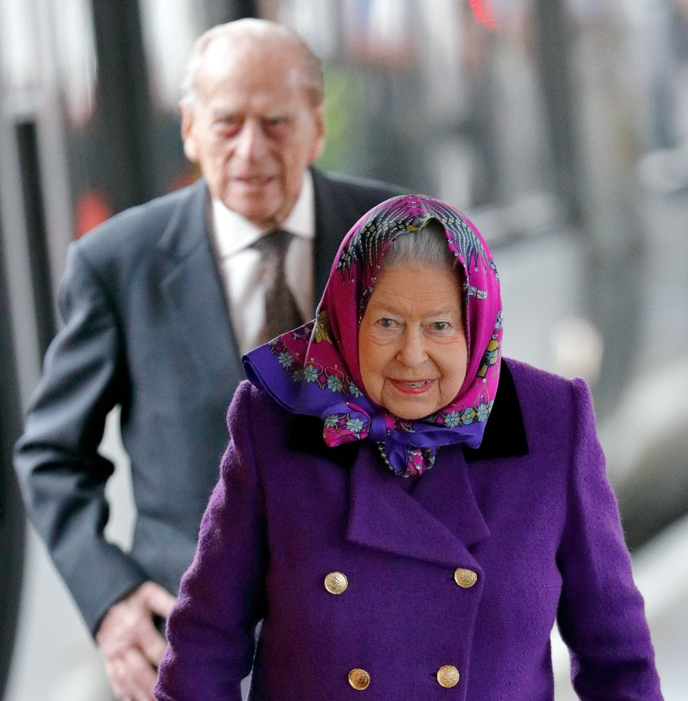 Queen Elizabeth and Prince Philip's Christmas Train Journey