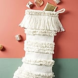 Tufted Stripe Stocking