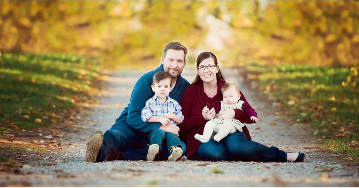 Fall family portrait ideas popsugar moms