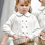 When He Was Unsure About Being a Pageboy in His Aunt Pippa's Wedding