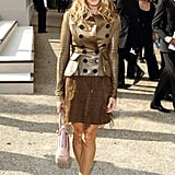Another SJP hit, this time at the Burberry show.