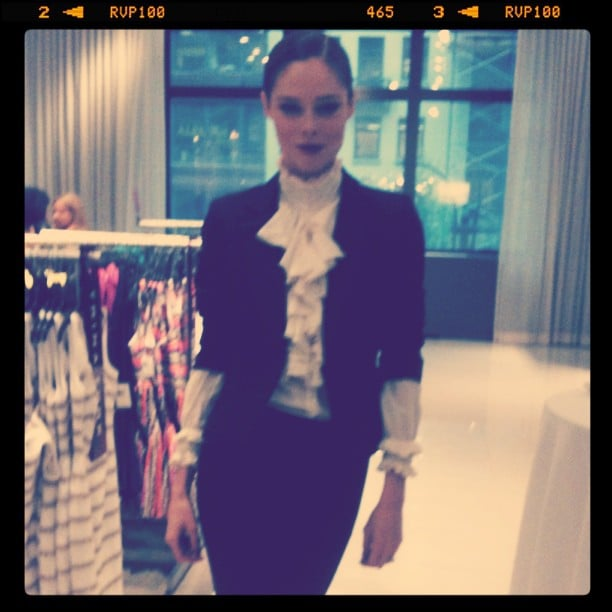 We spied the lovely Coco Rocha stepping out in support of Zac Posen's Z Spoke dress launch at Lord & Taylor.