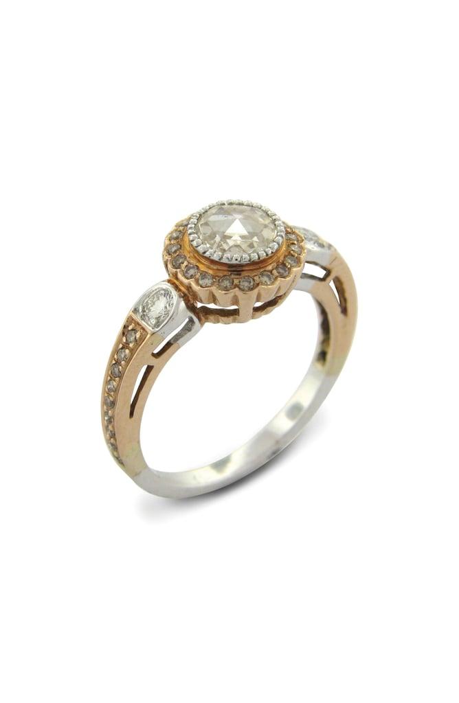 Sethi Couture True Romance Champagne Diamond Ring