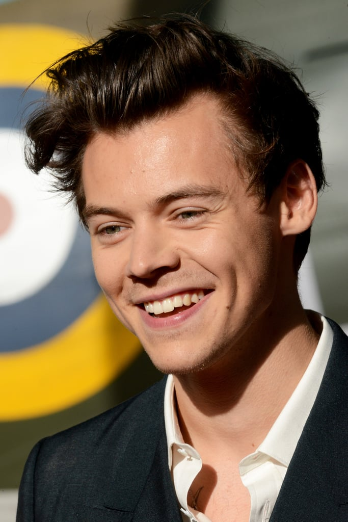 Pictures of Harry Styles Smiling and Laughing