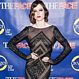 Coco Rocha's beaded Emilio Pucci gown was given extra sparkle thanks to her two Plukka rings: this Attica I ring ($590) and this Attica II ring ($790).