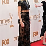 Gwyneth Paltrow wears Pucci to the Emmys.