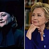 Amelia Bones / Hillary Clinton, Democrat