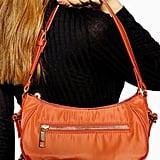 Topshop Phoebe Nylon Shoulder Bag