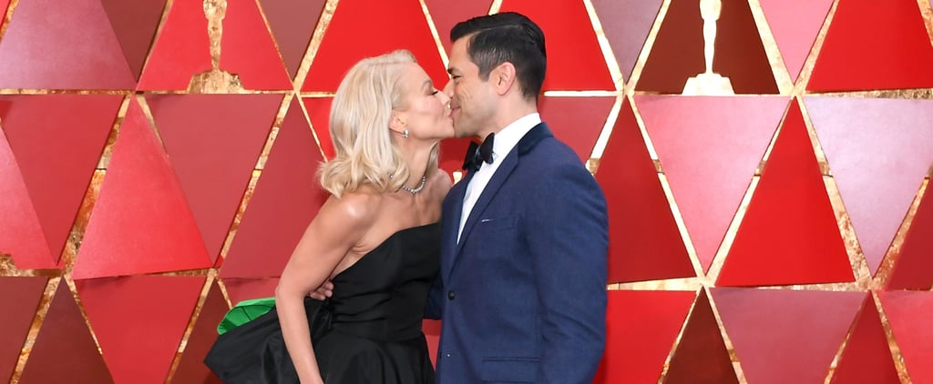 Kelly Ripa and Mark Consuelos Kiss Like Nobody's Watching at the Oscars