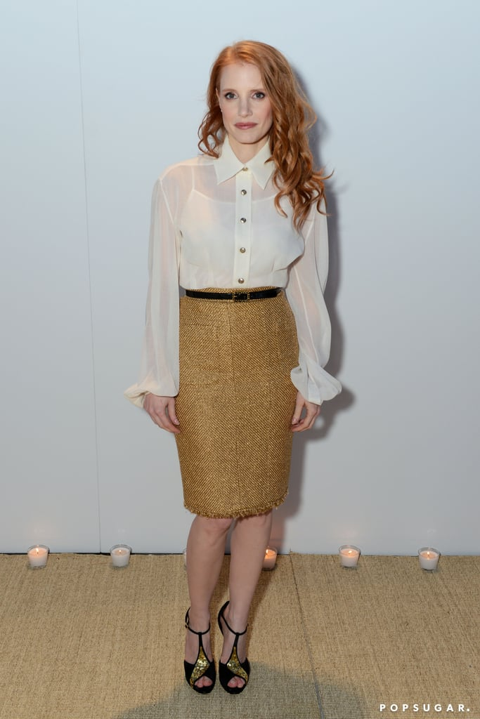 Jessica Chastain at Chanel Party at Cannes Film Festival