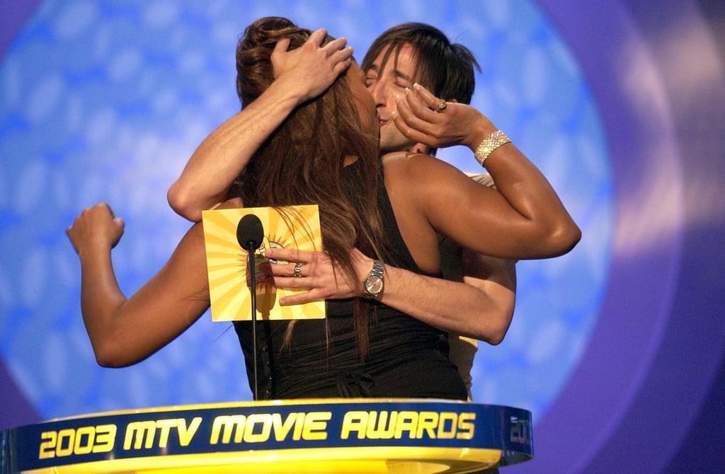 Adrien Brody and Queen Latifah
