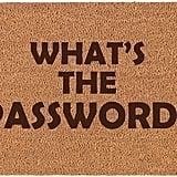 What's the Password? Doormat
