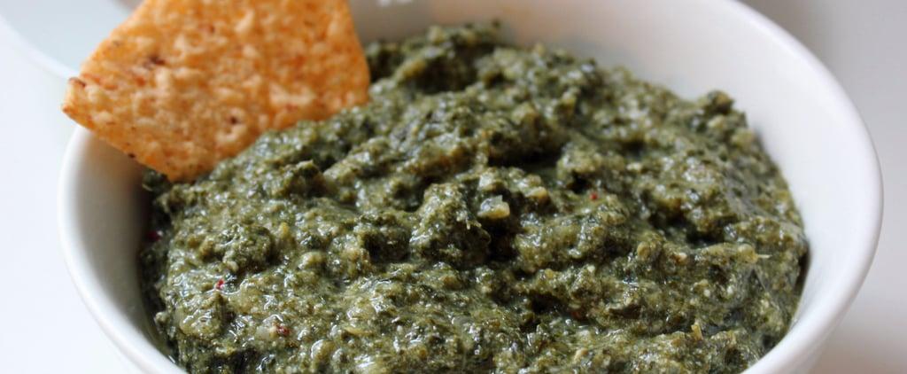 Healthy Creamy Kale Dip Recipe