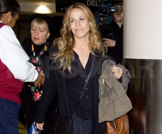 Slide Picture of Sheryl Crow Departing Out of LAX