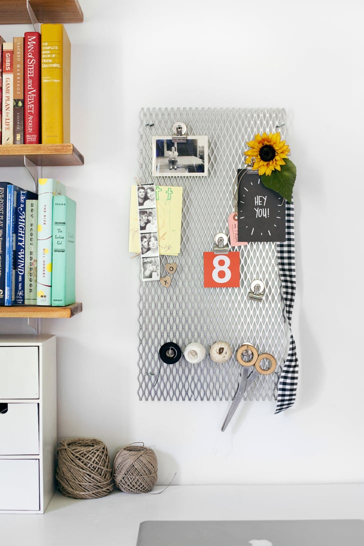Metal Grate Memo Board Cool Upcycling Projects