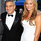 George Clooney and Stacy Keibler had a lot to smile about at the Critics' Choice Awards.