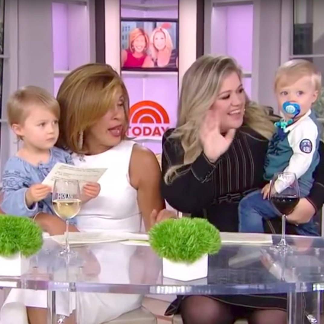 Kelly Clarkson and Her Kids on Today Show | POPSUGAR Celebrity