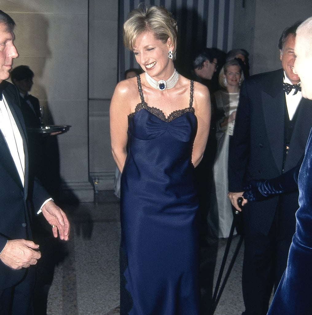 See Princess Diana's Dior Met Gala Slip Dress