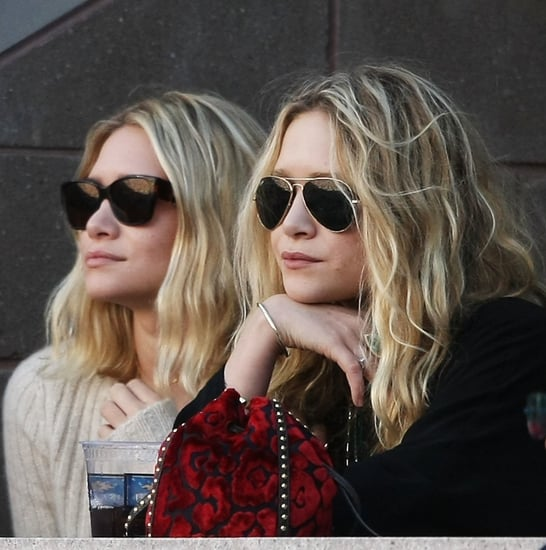 Mary-Kate and Ashley Olsen Design Sunglasses For The Row 2009-10-13 09:44:59