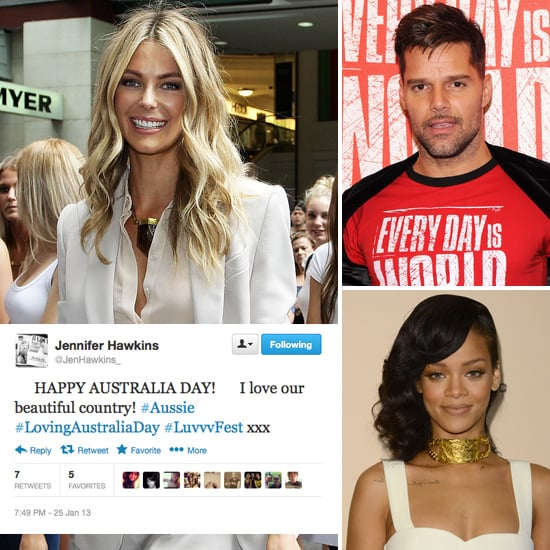 Tweets of the Week: Jennifer Hawkins, Rihanna, Ricky & more!