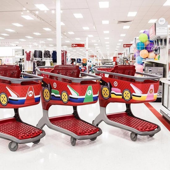 Mario Karts at Select Target Locations