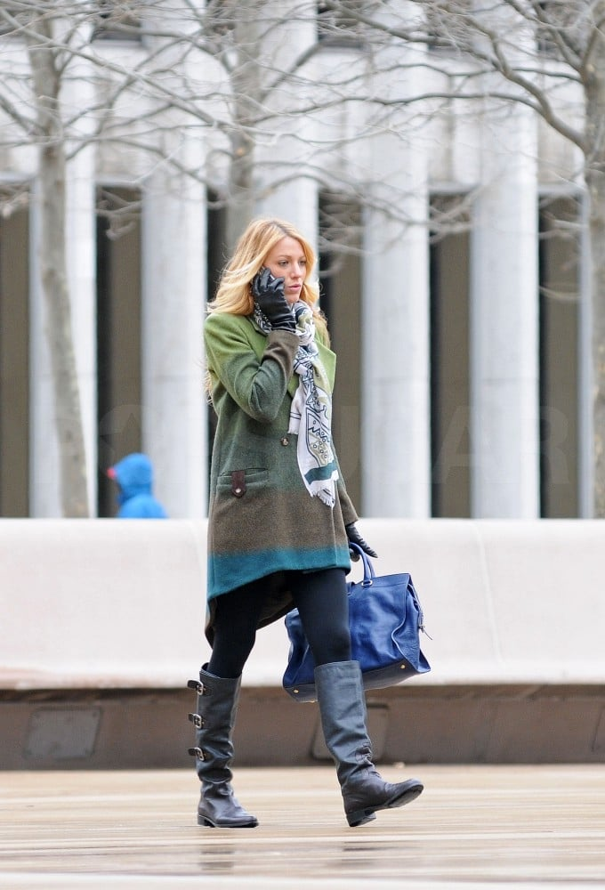 Blake Lively shot Gossip Girl in NYC.