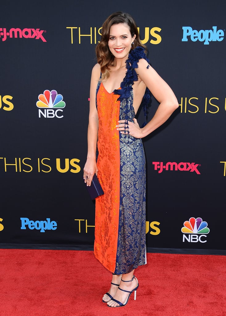 Mandy Moore Attended the This Is Us Season 2 Premiere in Rosie Assoulin
