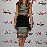 Jennifer Lawrence Makes a Colorful Stop at the AFI Awards