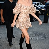 When She Looked Like a Rock Star in Zimmermann in Soho