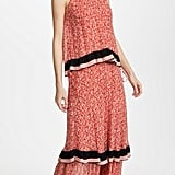 Derek Lam 10 Crosby Tiered Maxi Dress