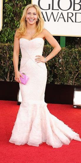 Hayden Panettiere(2013 Golden Globes Awards)