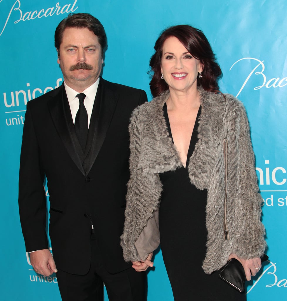 Nick Offerman and Megan Mullally were in attendance at 2011's UNICEF Ball.