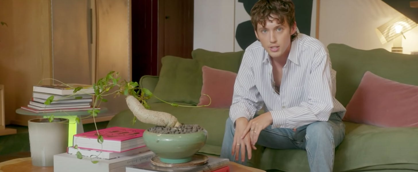 Watch Troye Sivan's Architectural Digest House Tour   Video