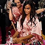 Joan Smalls Had the Best Night Ever at the Victoria's Secret Fashion Show