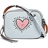 Coach 1941 x Keith Haring Sequins Heart Camera Bag