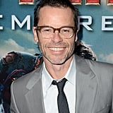 Guy Pearce arrived on the red carpet for the Iron Man 3 premiere.