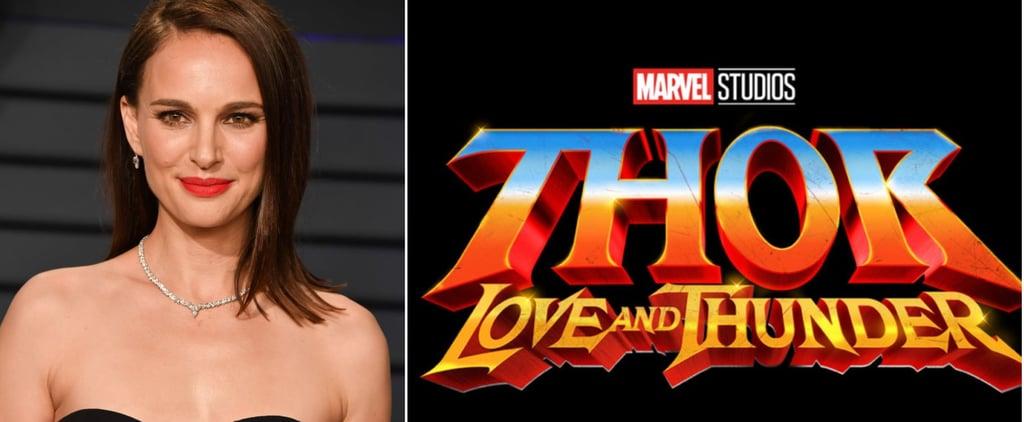 ناتالي بورتمان تلعب دور إلهة الرعد في فيلم Thor-Love-Thunder