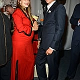 Jemima Kirke and Vito Schnabel attended the Studio in a School's 35th Anniversary Gala at NYC's Seagram Building.